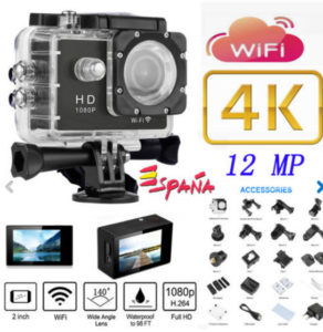 CHOLLAZO! Camara estilo GoPro graba en 4k por 28 Euros DESDE ESPAÑA (Oferta Cupon Descuento)