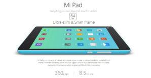 ¡OFERTON! Xiaomi MIpad 7.9″ 64GB por 99€