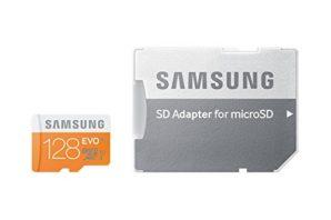 ¡PRECIAZO! Tarjeta Micro SDXC Samsung EVO 128GB por 30.99€