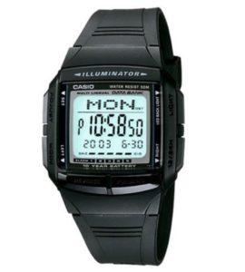 ¡iNDISPENSABLE! Reloj Casio Databank - 30 registros - 5 alarmas - sumergible 50M - pila 10 años por 19.9€ (Oferta Cupon Descuento)