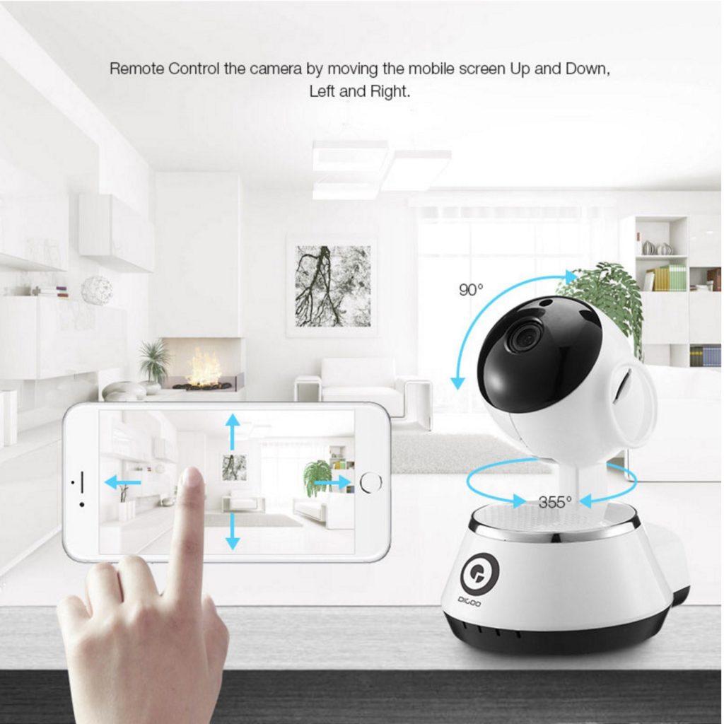 Chollon camara de seguridad wifi 720p motorizada por 10 - Camara de seguridad wifi ...