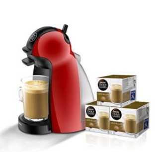OFERTA AMAZON! Dolce Gusto Krups + 3 packs de cafe por 49€ (Oferta Cupon Descuento)