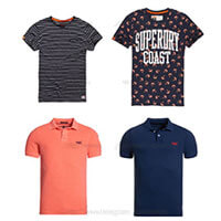 ¡A la moda! Camisetas y Polos Superdry por 15,95€ (Oferta Cupon Descuento)