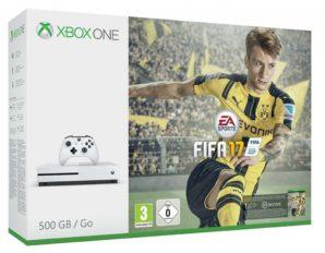 ¡Chollo! Nueva Xbox One S con Fifa 17 por 299 euros