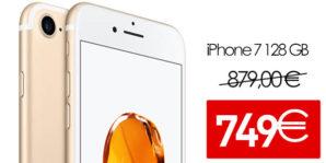 ¡OFERTA! iPhone 7 128GB libre con 130€ de descuento