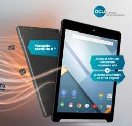 Vuelve no te quedes sin ella! Tablet OCU 8″ por solo 7,50€