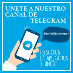 Canal de Chollos en Telegram