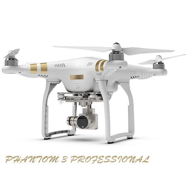 Descuentazo ! DJI Phantom 3 Professional 4K GPS por 552€