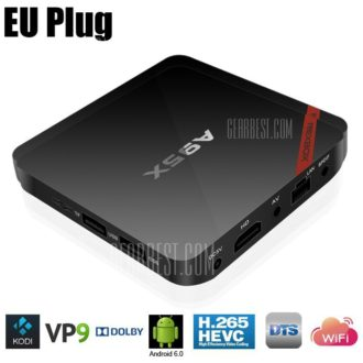Android TV ! A95X TVBox Amlogic S905X 2GB+8GB por 29 Euros (Oferta Cupon Descuento)