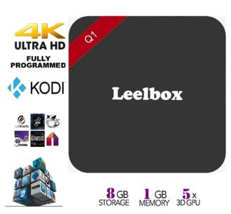 FLASH ! Android TV Box 4K Leelbox por 22,94 Euros (Oferta Cupon Descuento)