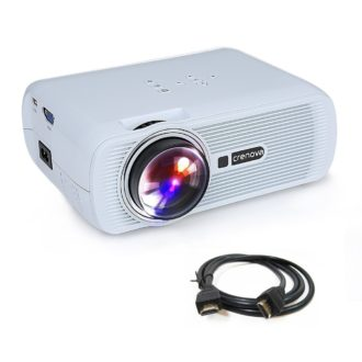 PRECIAZO AMAZON ! Proyector 1200 Lumens HDMI USB VGA SD por 59 Euros (Oferta Cupon Descuento)