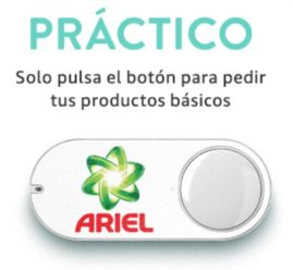 GRATIS! Amazon Dash Button por 2,49€ y 5€ de regalo!
