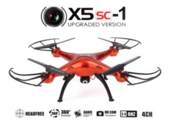 VUELA ! Drone Syma X5SC con camara por 27€ Desde España (Oferta Cupon Descuento)