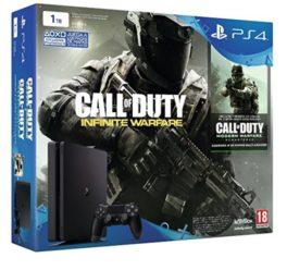 AMAZON BLACK! PS4 1TB modelo nuevo Slim + COD Infinity Warfare por 299 Euros