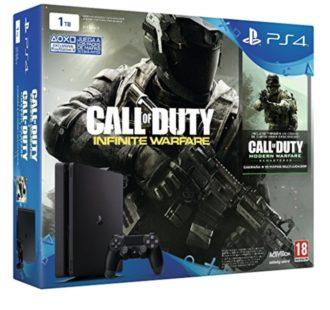 AMAZON BLACK! PS4 1TB modelo nuevo Slim + COD Infinity Warfare por 299 Euros (Oferta Cupon Descuento)