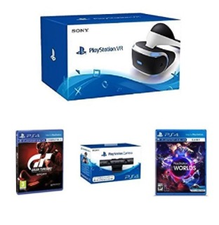 Mega Pack Amazon! Pack Playstation VR + Camara + Gran Turismo + VRW por 299€ (Oferta Cupon Descuento)