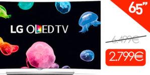 BLACK AMAZON! Bajada desde los 6500 Euros esta LG OLED 65″ 4K UHD 3D Smart TV por 2799 euros