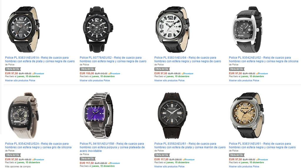 Rebaja Amazon! Relojes POLICE al 50% (Oferta Cupon Descuento)
