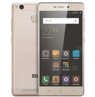 Super Chollo! Xiaomi Redmi 3S 3GB/32B por 118€ (Oferta Cupon Descuento)