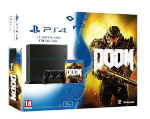 CHOLLO AMAZON! PlayStation 4 1TB + Doom por 299 Euros