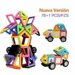 OFERTA AMAZON! Bloques Magneticos 77 piezas por 14.99€