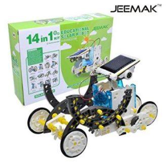 OFERTA! Kit Robot Solar 14 en 1 por 11,99€ (Oferta Cupon Descuento)
