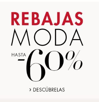REBAJAS MODA - AMAZON hasta un -60% + un 10% adicional (Oferta Cupon Descuento)
