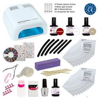 CHOLLO! Kit de manicura de Nail Art MEANAIL Deluxe por 57,90€ (Oferta Cupon Descuento)