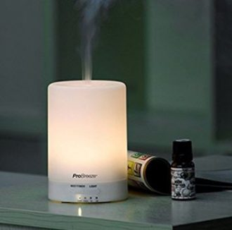AROMATERAPIA! Humidificador Ultrasonico con difusor de aromas por 19.50€ (Oferta Cupon Descuento)