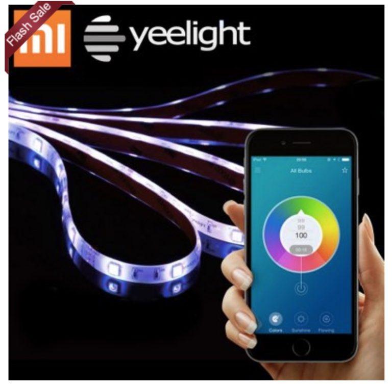 CHOLLO Amazon! Tira Led Xiaomi Yeelight Smart Light por 29,9€