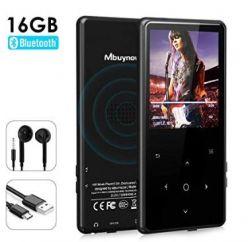 CHOLLO AMAZON! Reproductor MP3 16GB Mbuynow por 19€