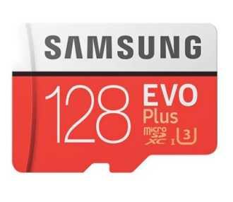 OFERTA 50 unidades! Tarjeta Samsung Evo Plus 128GB por 30€ (Oferta Cupon Descuento)