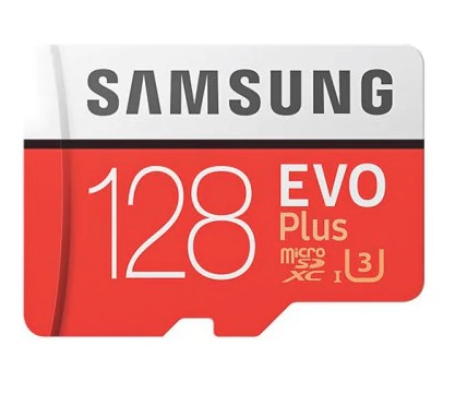 CHOLLACO! Tarjeta Micro SD Samsung Evo Plus 128GB U3 a 17€