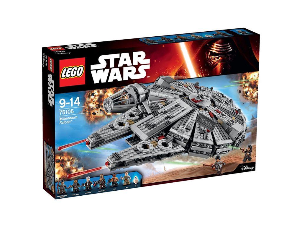 Precio Minimo! LEGO Star Wars - Halcón Milenario por 107€ (Oferta Cupon Descuento)