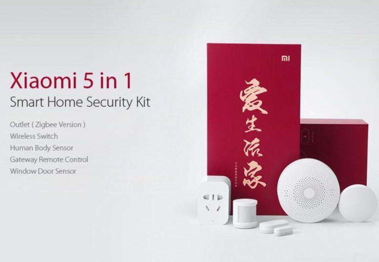 CHOLLO Amazon! Xiaomi home kit 5 en 1 a 34,9€