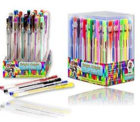 CHOLLO! 36 Boligrafos de tinta de gel por 10,94€