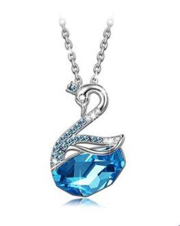 OFERTA FLASH! Collar Princesa Cisne cristales SWAROVSKI por 19.99€ (Oferta Cupon Descuento)