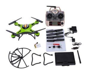 Chollaco Desde España! Drone JJRC H8D + Camara + Monitor FPV por 53€