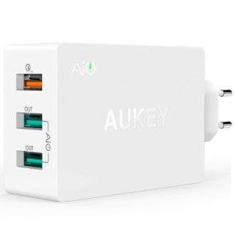Chollaco! Cargador Quick Charge 2.0 Aukey PA-T2 (Oferta Cupon Descuento)