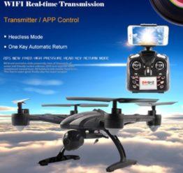 CHOLLO! Drone JXD 509W FPV WIFI por 24,6€