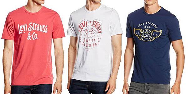 CHOLLAZO! Camisetas Levi's para hombre desde 10€ ¡VUELAN! (Oferta Cupon Descuento)