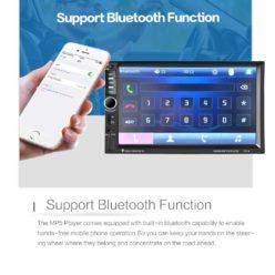 OFERTA! Radio tactil bluetooth 7″ USB para coche por 25€