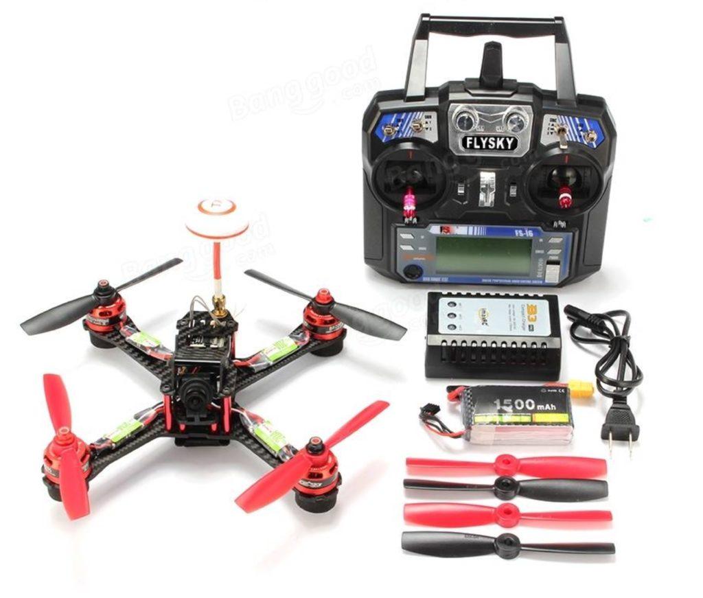 Drone De Carreras ya montado Realacc GX210 + Emisora por 129€ (Oferta Cupon Descuento)