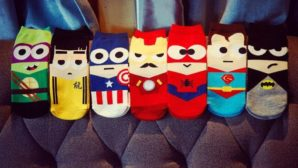 Chollito! Calcetines superheroes talla 39-44 a 0,87€/par