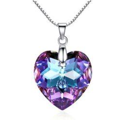 OFERTA! Collar corazon de cristal GoSparking Mystic Topaz por 19.99€