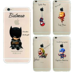 CHOLLO! Funda Superheroes iPhone por 1.36€