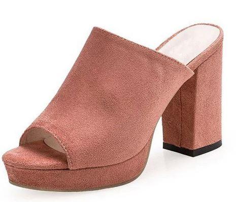 OFERTA! Zapatos de ante para mujer por 18.13€