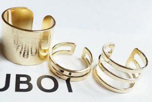 OFERTAZA! Pack de 3 anillos por 0.40€
