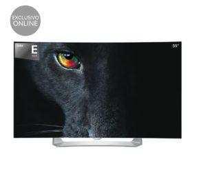 Smart TV OLED Curvo LG 55EG910V de 55″ por 1.189€