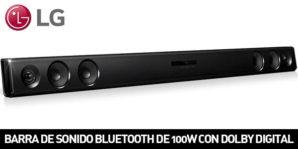 Chollo Amazon! Barra de sonido LG LAS260B por 79€